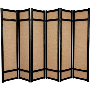 Clarke Shoji 6 Panel Room Divider by World Menagerie