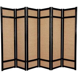Clarke Shoji 6 Panel Room Divider
