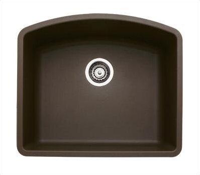 """Undermount Kitchen Single Sink blanco diamond 24"""" x 20.81"""" single bowl undermount kitchen sink"""