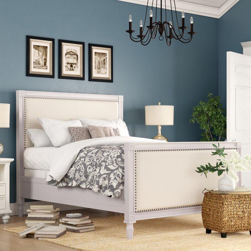 Birch Lane Heritage Dobson Upholstered Standard Bed Reviews