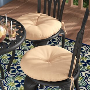 Sarver Indoor/Outdoor Dining Chair Cushion (Set of 2)