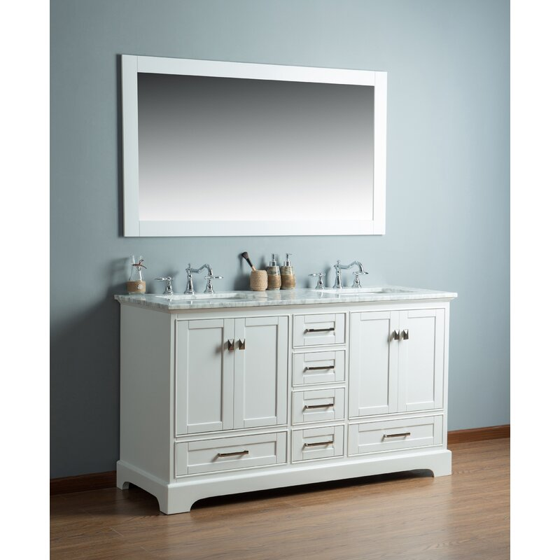 Stian 60 Double Sink Bathroom Vanity Set