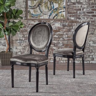Chambray Upholstered Dining Chair (Set of 2)