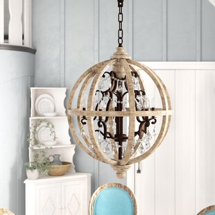 Andreana 5-Light Globe Chandelier By One Allium Way Ceiling Lights