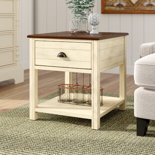 Where buy  Chesapeake End Table With Storage ByBeachcrest Home