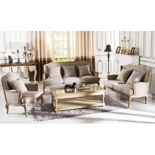 Best Reviews Bem 3 Piece Living Room Set by One Allium Way Reviews (2019) & Buyer's Guide