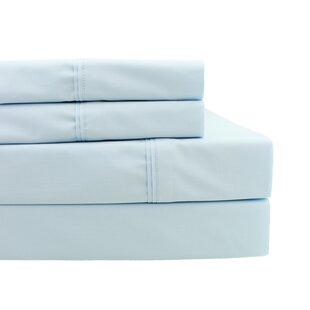 Ealing Pleat Hem 300 Thread Count Percale Sheet Set