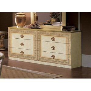 Stirling 6 Drawer Double Dresser by Astoria Grand