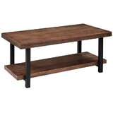 Ong Solid Wood Coffee Table with Storage by Loon Peak®