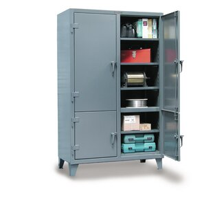 78H x 48W x 24D 2 Door Storage Cabinet by Strong Hold Products