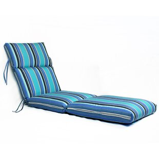 Dolce Oasis Indoor/Outdoor Sunbrella Chaise Lounge Cushion