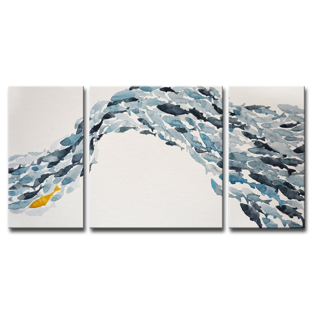 3 Piece Wall Art Free Shipping Over 35 Wayfair