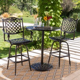 Richwood 3 Piece Bar Height Dining Set