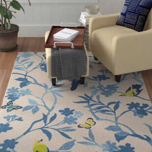 Muhja Blue/Yellow Area Rug By Winston Porter