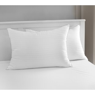 Luxury Memory Fiber Pillow with 500 Thread Count Tencel® Cover (Set of 2)