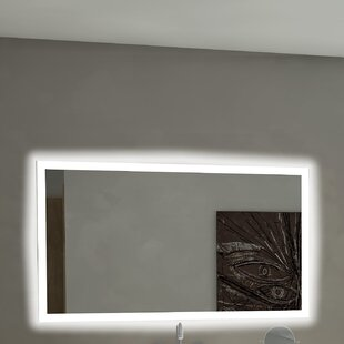 Best Rectangle Backlit Bathroom/Vanity Wall Mirror By Paris Mirror