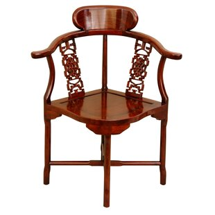 Slaven Corner Armchair by World Menagerie