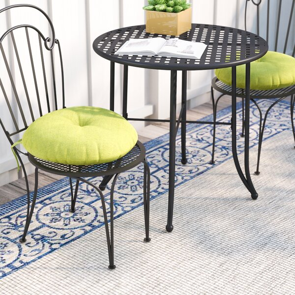 Andover Mills Sarver Bistro Indoor/Outdoor Dining Chair Cushion U0026 Reviews |  Wayfair