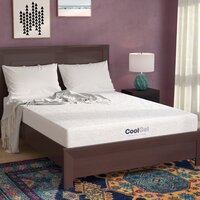 Deals on Alwyn 8-in Medium Gel Memory Foam Mattress