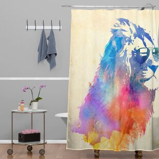 Sunny Leo Single Shower Curtain