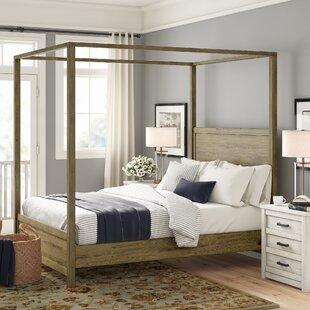 Glynda Canopy Bed by Three Posts