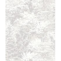 Modern Gray Wallpaper Allmodern
