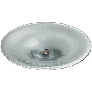 Find Vessels Glass Circular Vessel Bathroom Sink By Kohler
