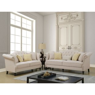 Prospe Upholstered Configurable 2 Piece Living Room Set by Rosdorf Park