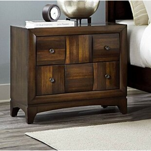 Reviews Corktown Spacious Wooden 4 Drawer Nightstand by Brayden Studio