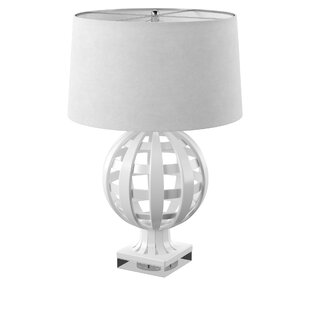 Denn Open Work Globe 28 Table Lamp (Set of 2)