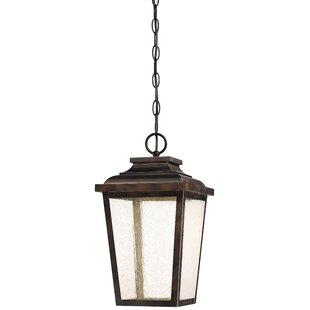 Affordable Price Mayhugh 1-Light LED Outdoor Hanging Lantern By Three Posts