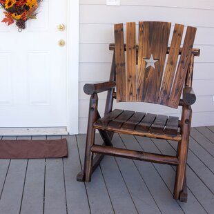 Char-Log Star Single Rocking Chair By Leigh Country