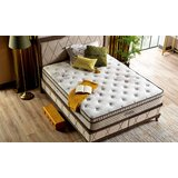 Gazelle King Upholstered Storage Sleigh Bed by Arzezum