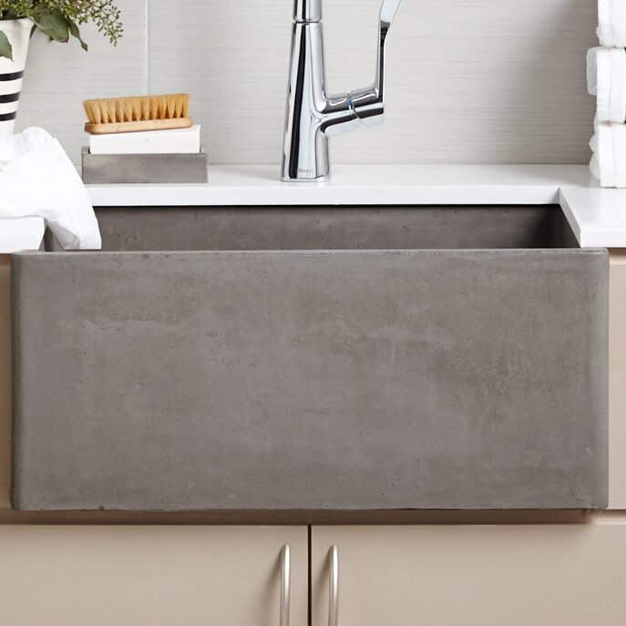 "Bathroom Sink 24 X 18 native trails farmhouse 24"" x 18"" kitchen sink & reviews 