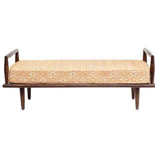 Silsden Mango Wood Bench by Wrought Studio