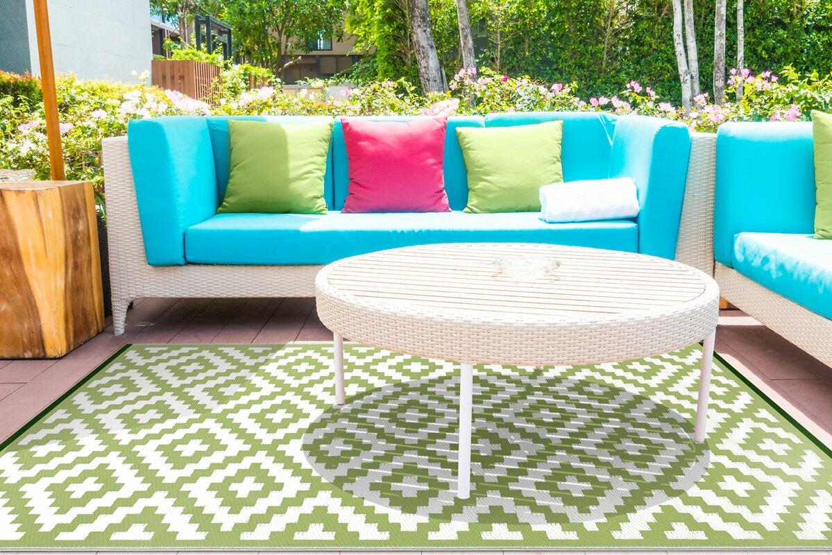 green decore au enteppich in gr n wei bewertungen. Black Bedroom Furniture Sets. Home Design Ideas