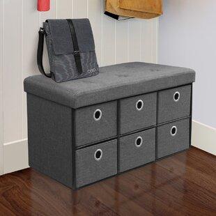 Truax Upholstered Storage Bench by Winston Porter
