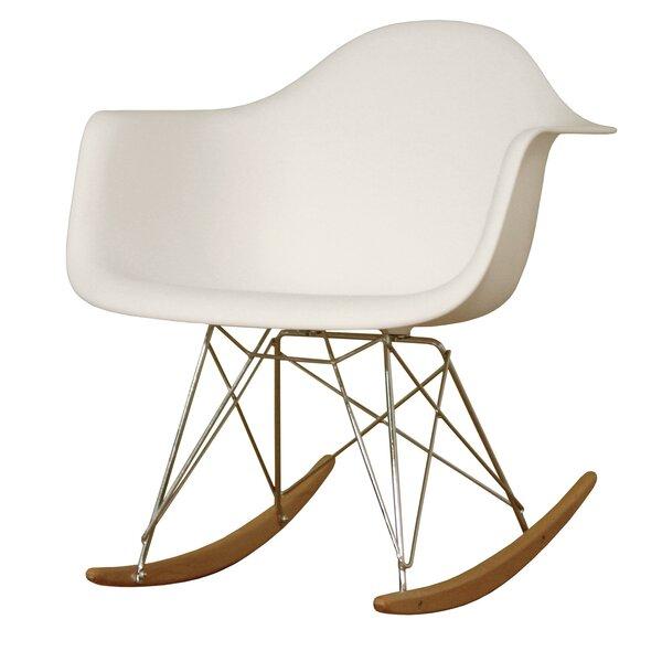 Baxton Studio Mid-Century Modern Rocking Chair  sc 1 st  Joss u0026 Main & Baxton Studio Mid-Century Modern Rocking Chair | Joss u0026 Main