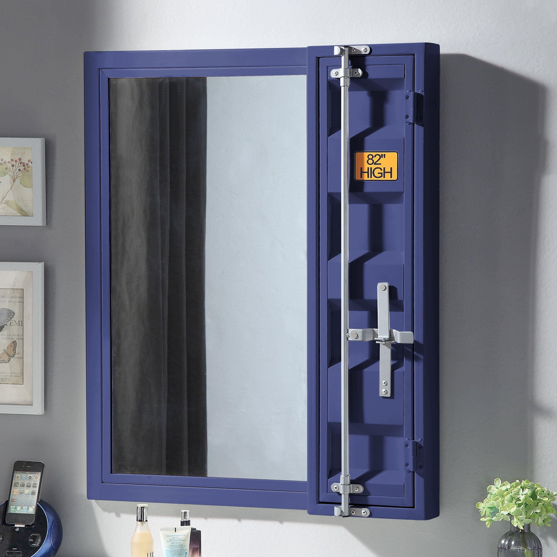 Zoomie Kids Otero Bathroom Vanity Mirror With Shelves Wayfair