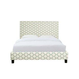 Cincinnati Upholstered Platform Bed by Charlton Home