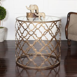 Price comparison Quatrefoil End Table By Uttermost