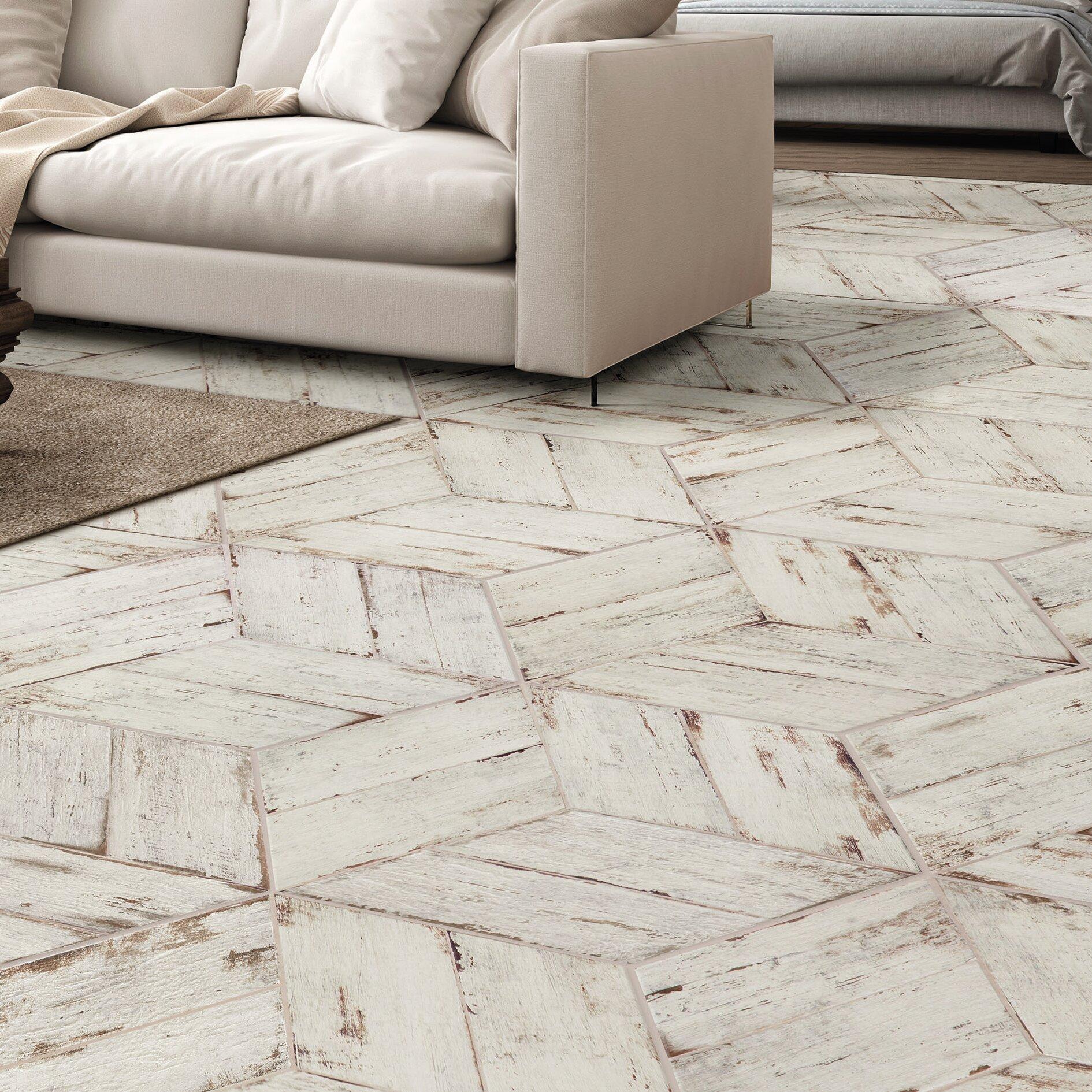 Rama 7 X 17 Porcelain Wood Look Tile