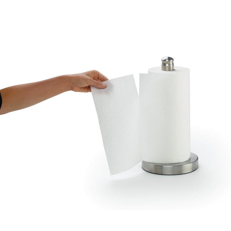 Kamenstein Perfect Tear Wall Mount Paper Towel Holder Stainless Steel 14