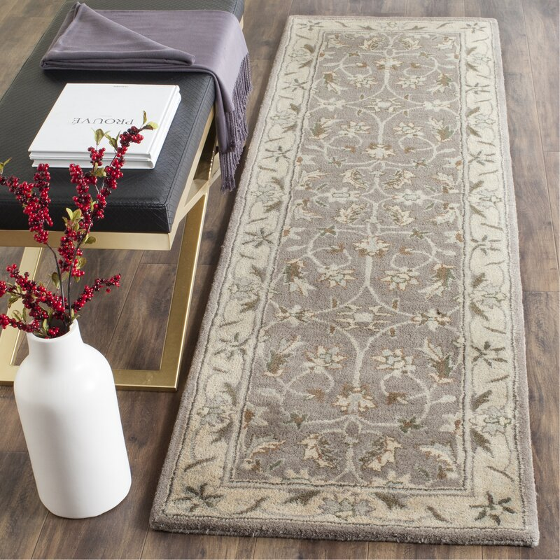 Darby Home Co Tressler Hand Tufted Wool Gray Beige Area Rug Reviews Wayfair