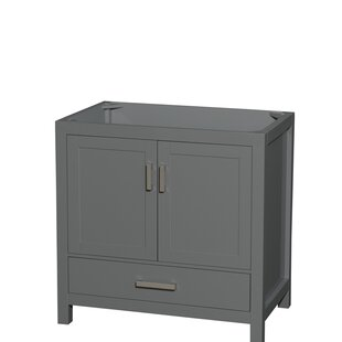 Sheffield 36 Single Bathroom Vanity Base by Wyndham Collection