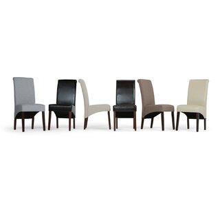 Agnon Deluxe Upholstered Dining Chair (Set of 2) by Alcott Hill SKU:ED866851 Buy