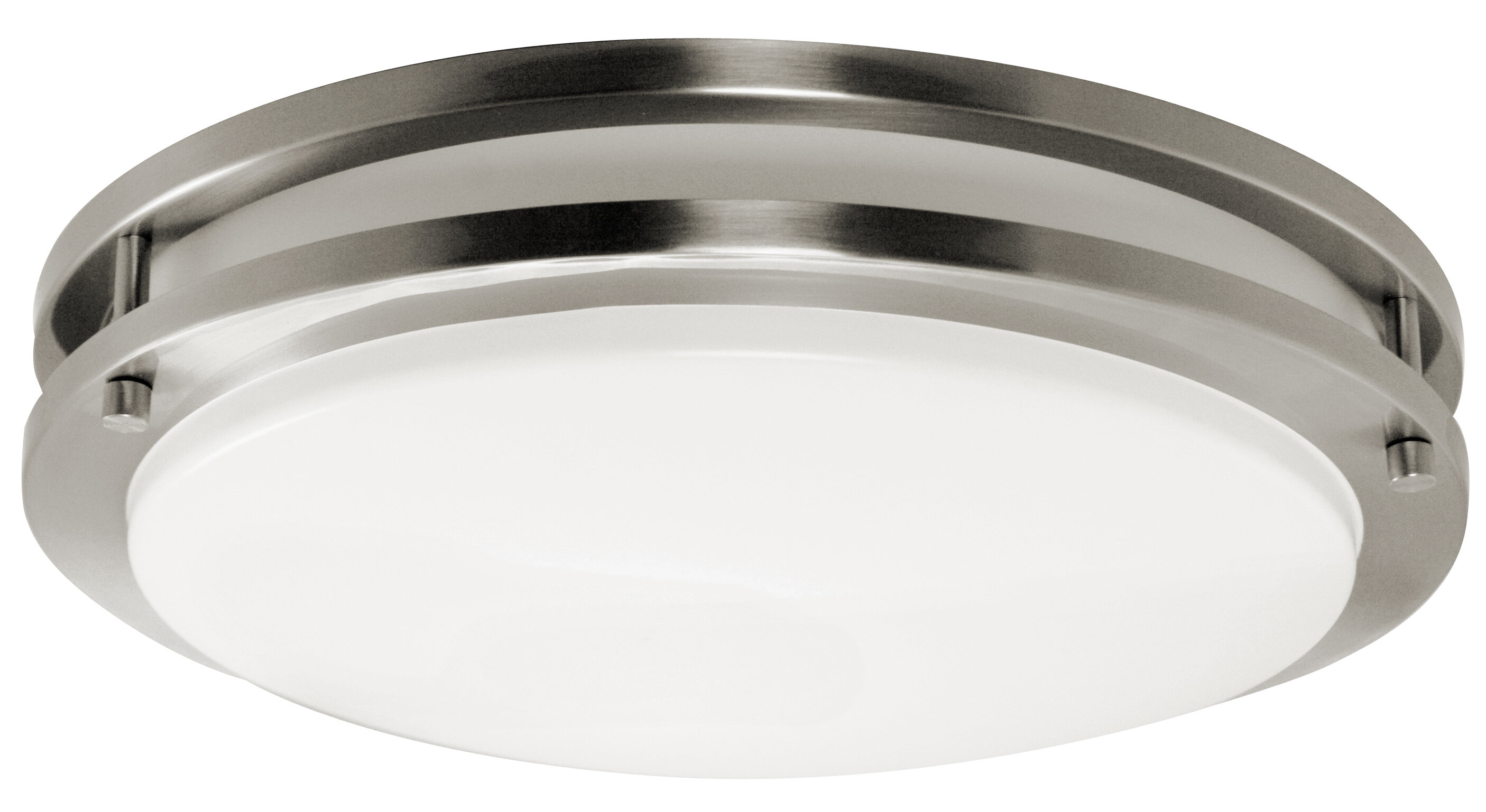 Efficientlighting 2 Light 16 Simple Circle Flush Mount Wayfair
