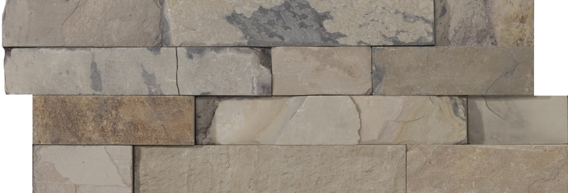 Slate 6 X 24 Stacked Tile In Autumn Lilac