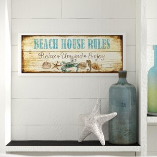 beach house wall art wayfair rh wayfair com beach house wall decor ideas beach house outdoor wall decor