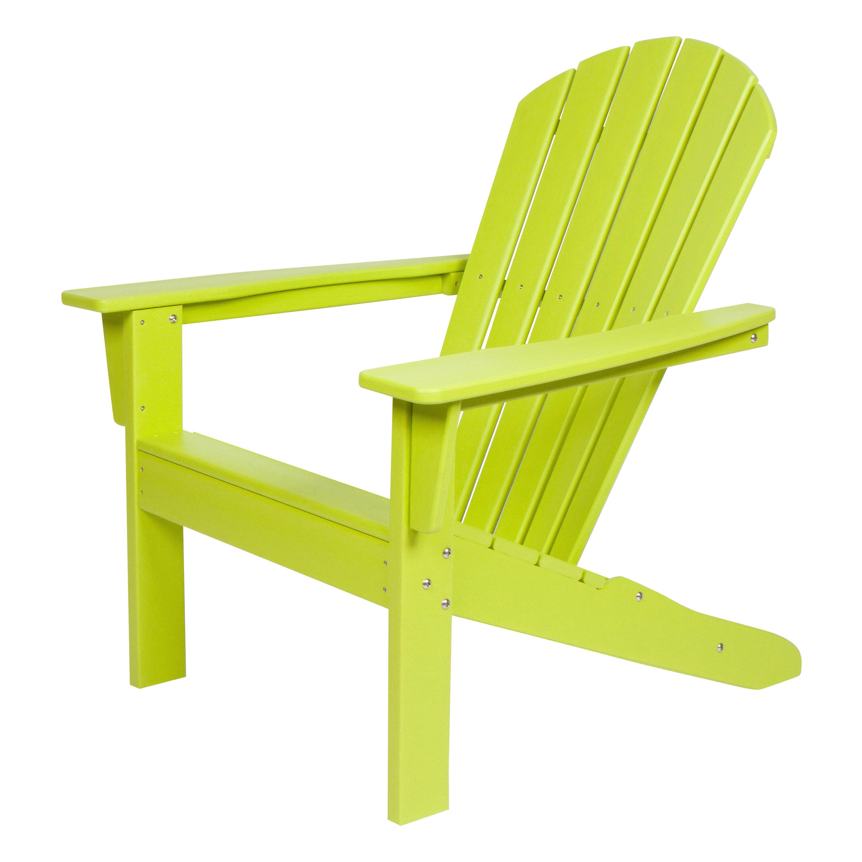 Bay Isle Home Barrett Plastic Resin Adirondack Chair Wayfair